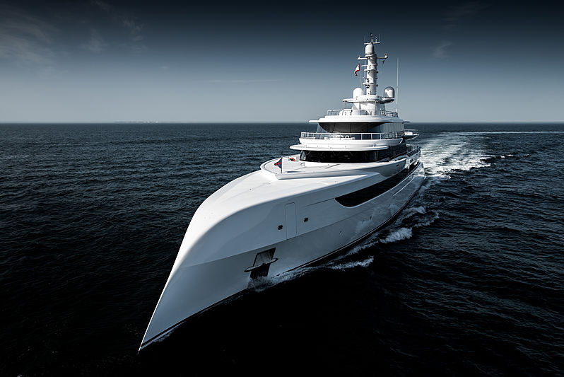 Measuring 262 feet, Excellence, launched by Abeking & Rasmussen and designed by Winch Design, is the newest superyacht in the show and will be on display at the Superyacht Village.