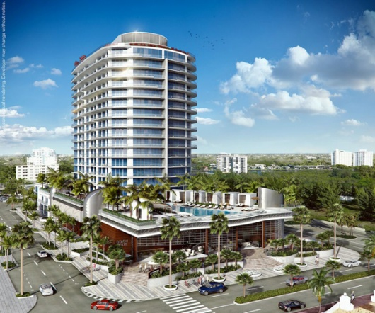 PARAMOUNT Fort Lauderdale Beach Begins Vertical Construction