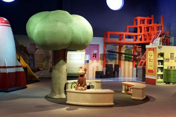 Curious George: Let's Get Curious! At Museum of Discovery and Science