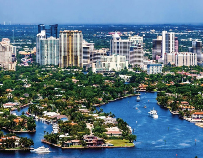 "Fort Lauderdale Ranked #2 Among ""10 Most Exciting Places in Florida"""