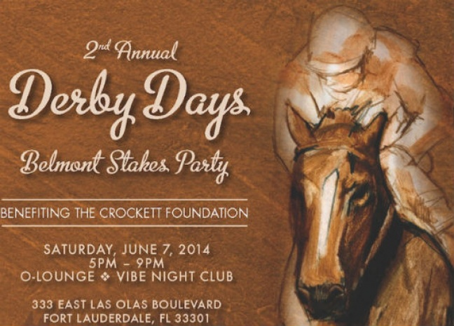 2nd Annual Derby Days Belmont StakesParty on June 7 to  Benefit Crockett Foundation, Empowering Today's Youth with Literacy