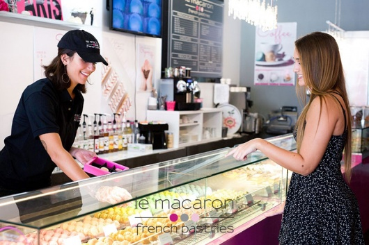 Le Macaron French Pastries® is now open at The Galleria at Fort Lauderdale