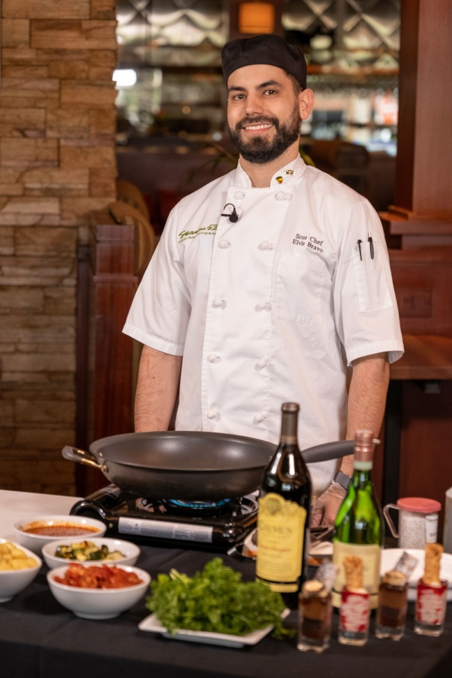 Seasons 52 Chef Elvis Bravo to Prepare the Perfect Starters on the next Cooking with the Galleria Free Virtual Series; Tuesday, June 9, at 2 P.M., On Facebook Live