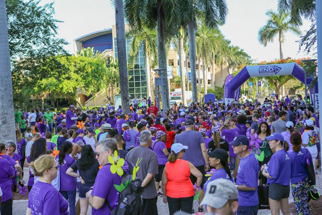 Alzheimer's Association Walk to End Alzheimer's® Raises Nearly $300,000 in Broward