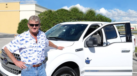 Ford Motor Company Launches New 2018 Guy Harvey-Branded  Limited Edition Ford F-150 Trucks in Florida  Portion of sales benefit ocean conservation