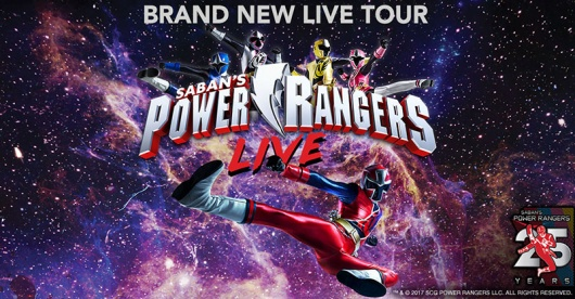 Power Rangers Live! Come To The Broward Center For The Performing Arts