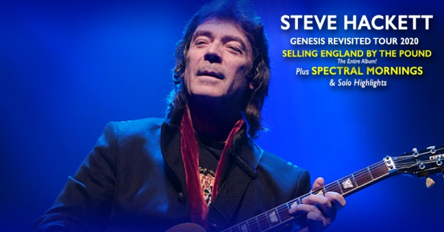 Steve Hackett: Genesis Revisited Comes To Parker Playhouse