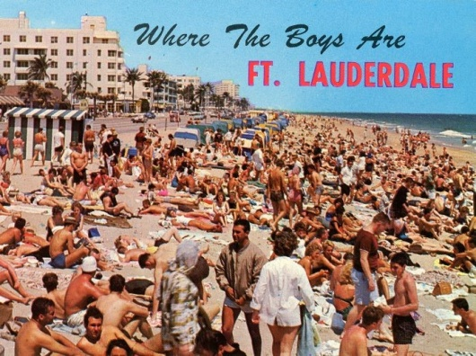 60th Anniversary of the Iconic Film Where the Boys Are Celebrated with a Photo Restrospective by  History Fort Lauderdale