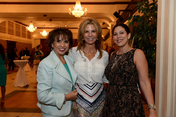 United Way of Broward County President & CEO Kathleen Cannon (center) is joined by Magnolia Luncheon Event Co-Chairs Stella Tokar and Rosy Lopez.