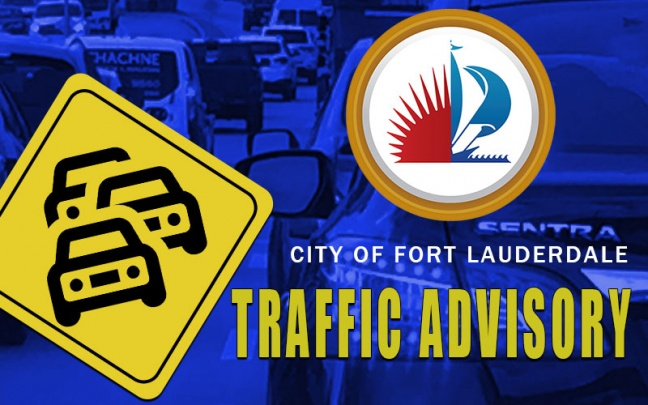 Traffic Advisory Remains in Effect for SW 2 Street Between  SW 1 Avenue and SW 2nd Avenue