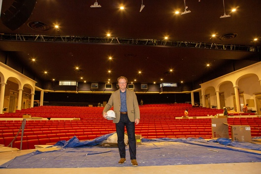 The 30 Million Dollar Renovation   of the Iconic Parker Playhouse is in the Homestretch