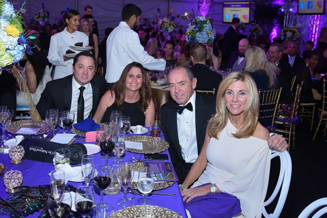 2016 Gala - Ken and Brittany Stiles with Terry and Jamie Stiles