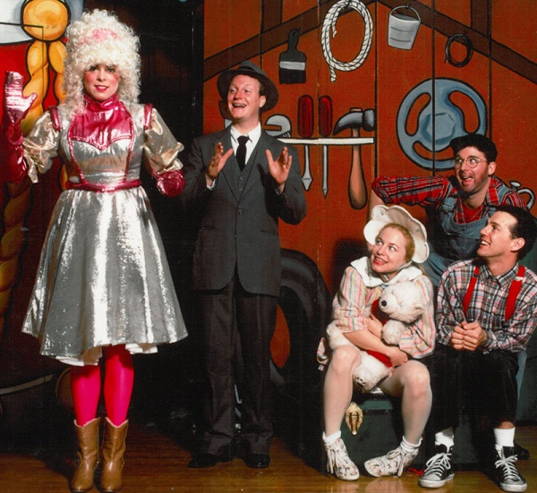 """Santa's Enchanted Workshop""  Celebrates The Season  In A Jm Family Enterprises Smart Stage Matinee"