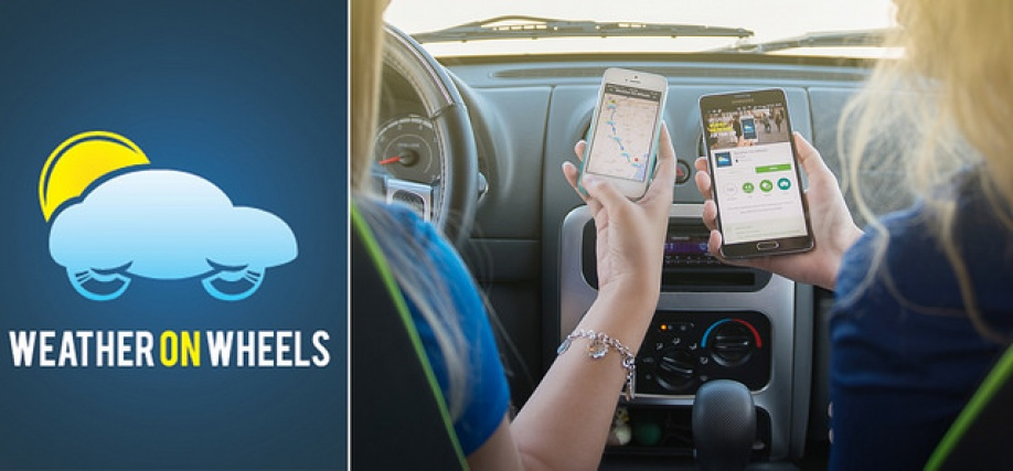 Make Your Road Trip Safer with the Weather on Wheels App