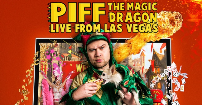 Broward Center Presents Piff the Magic Dragon in Live Zoom Performances
