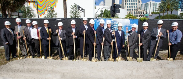 One West Las Olas Ground Breaking