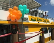 Water Taxi Wows with Successful Grand Opening at New Bokampers Stop